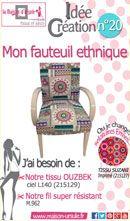 Mon fauteuil ethnique
