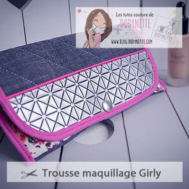 Tutoriel Pochette Maquillage Soirée Ada Dodynette