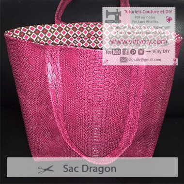 Tutoriel Sac Dragon - Vinydiy