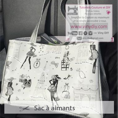 Tutoriel Sac à aimants Vinydiy