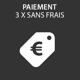 Service de paiement en 3 fois sans frais