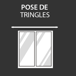 Service de pose de tringle dans votre magasin