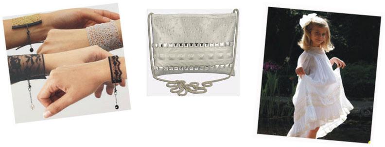 Bracelet Tissu & Sac Tissu & Tissu Habillement