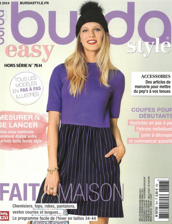 Revue de Presse Burda Style - Novembre Décembre 2018