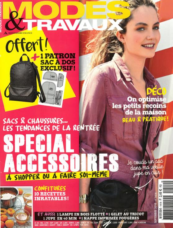 Revue de Presse Modes & Travaux - Septembre 2018