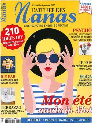 Revue de Presse L'Atelier des Nanas N°5 - Juillet Septembre 2017