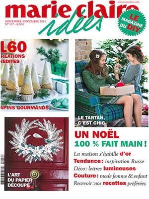 Marie Claire Idées Novembre - Décembre 2016