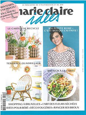 Revue de Presse Marie-Claire Idées N°125 - Mars Avril 2018