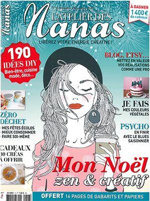Revue de Presse L'Atelier des Nanas N°6 - Octobre Décembre 2017