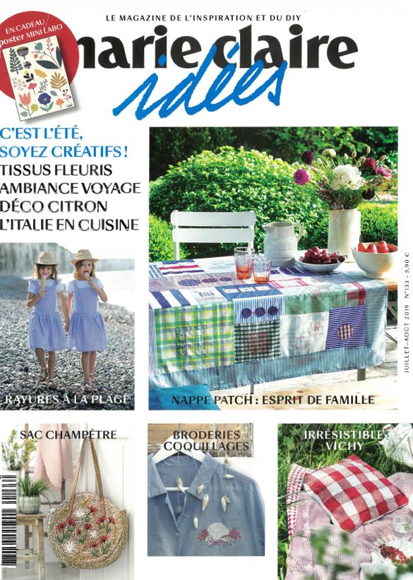 Marie Claire idées - Juillet Aout 2019