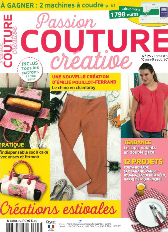 Passion couture créative - Juin 2019