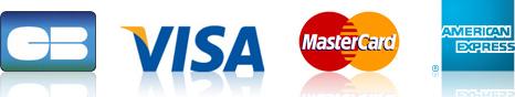 Carte bancaire, Visa, MasterCard, American Express