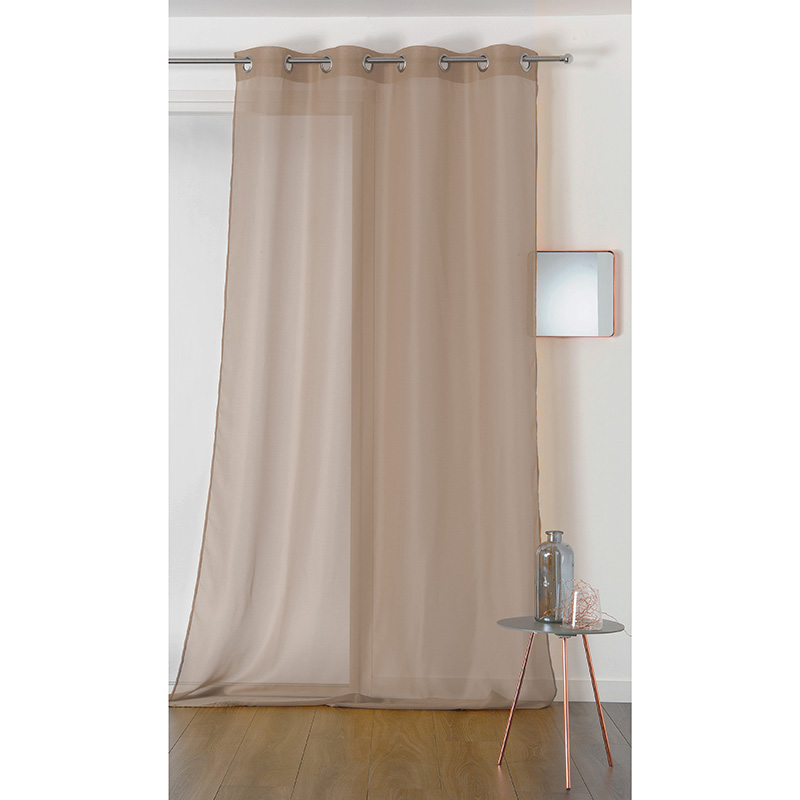 Voile Chic Taupe Plombé