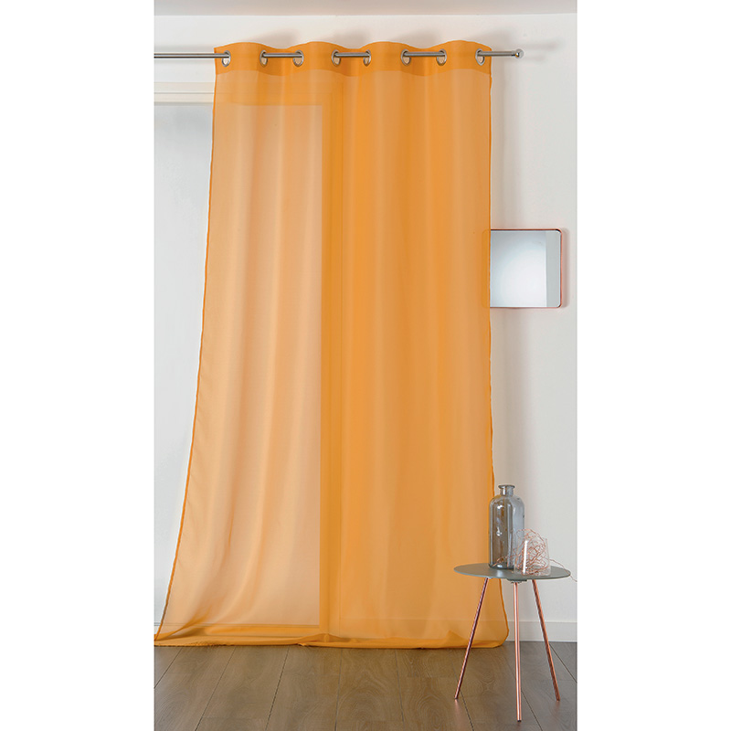 Voile Chic Orange Plombé
